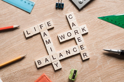 create balance between work and family