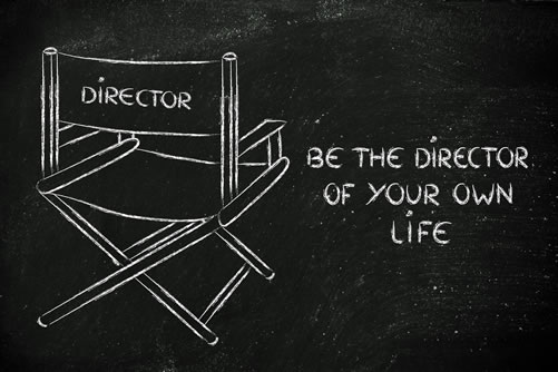 Becoming the director of your own life