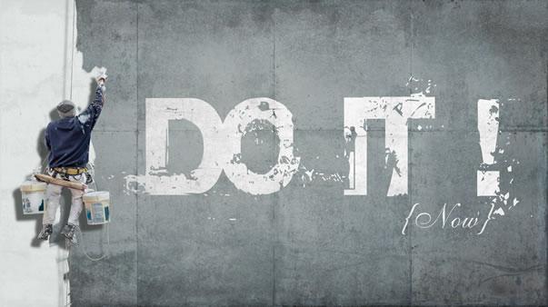 Procrastination just do it avoid it